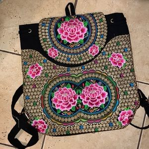 ✨Embroidered backpack✨